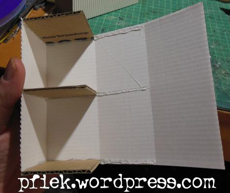 Geländebau - Container 2.0 - Schritt 3: Seitenwände kleben